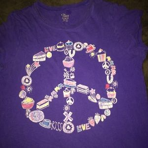 Shirts & Tops - Peace Sign Tee
